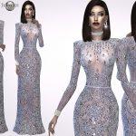 jomsims: Madine Glitter Dress