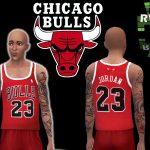 Rock Warrior Games: Michael Jordan CHICAGO BULLS 23 red 01
