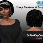 drteekaycee: Bang Wavy Bandana
