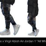 HypeSims: Nike x Virgil Abloh Air Jordan 1 All White