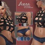 SM Sims: Leona Set