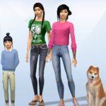 Familie Makamoto: Aoi, Miyu, Liberty und Suki (von links nach rechts)